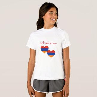 Armenian Girls' Sport-Tek Competitor T-Shirt