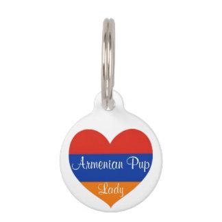 Armenian Heart | Dog Tag. Pet ID Tag