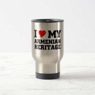 Armenian Heritage Travel Mug