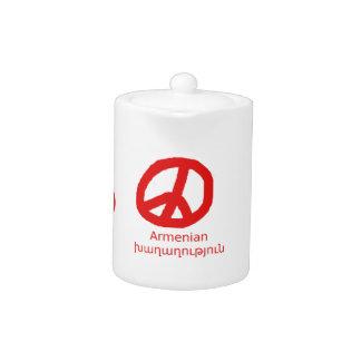 Armenian Language and Peace Symbol Design