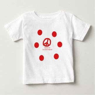 Armenian Language and Peace Symbol Design Baby T-Shirt