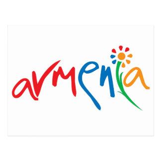 Armenian Official Logo Postcard