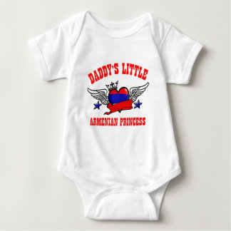 Armenian Princess Baby Bodysuit