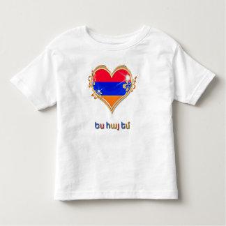 Armenian Toddler Fine Jersey T-Shirt