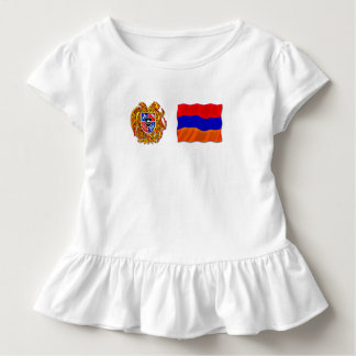 Armenian Toddler Ruffle Tee