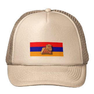 """Armenian """"We and our mountains"""" Trucker Hat"""