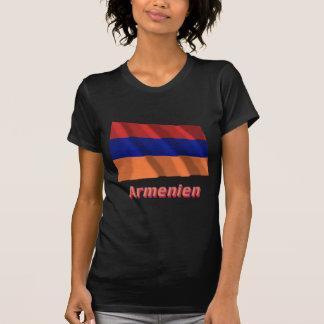 Armenien Fliegende Flagge mit deutschem Namen Shirts