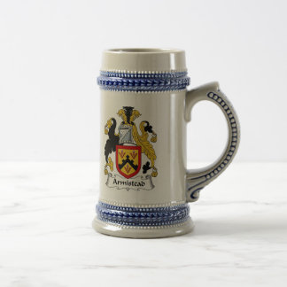 Armistead Coat of Arms Stein - Family Crest