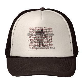 Armor of God, Ephesians 6:10-18, Christian Soldier Mesh Hat