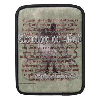 Armor of God, Ephesians 6:10-18, Christian Soldier iPad Sleeve