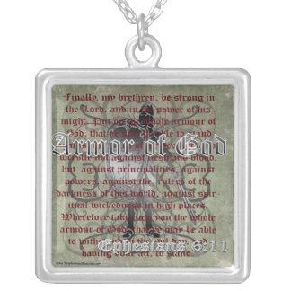 Armor of God, Ephesians 6:10-18, Christian Soldier Pendant