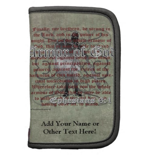 Armor of God, Ephesians 6:10-18, Christian Soldier Planner