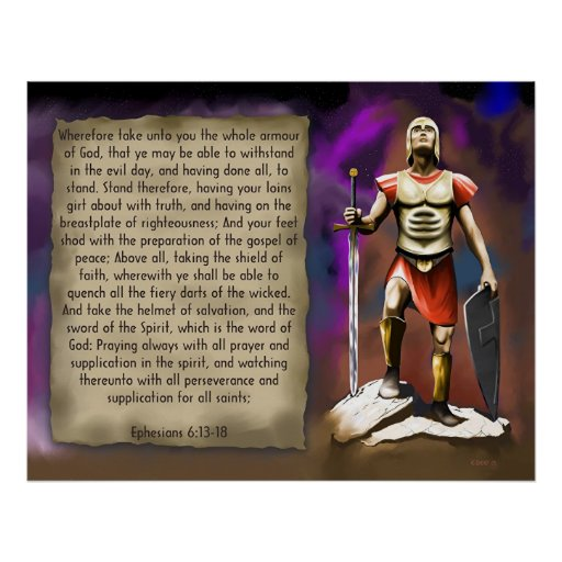 Armor of God II Print