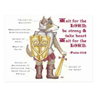Armor of God Inspirational Postcard