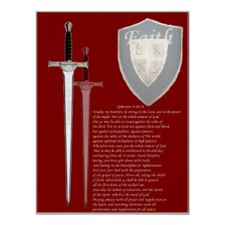 Armor of God large format poster