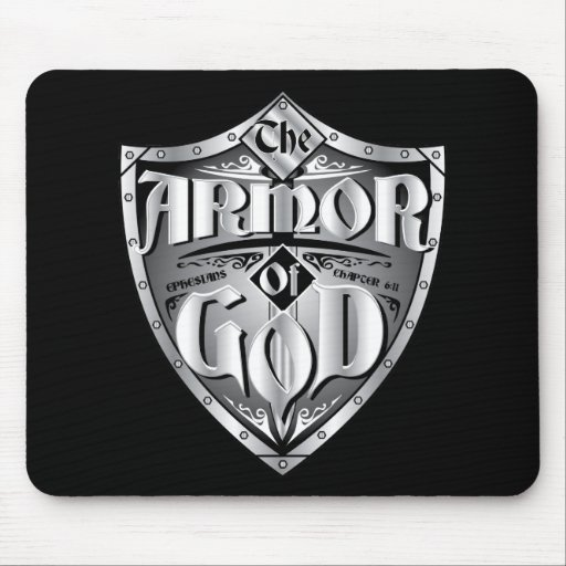 ARMOR OF GOD MOUSE PADS