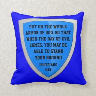 armor of God pillow