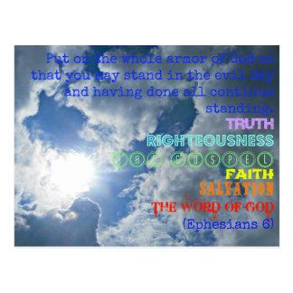 Armor of God postcard