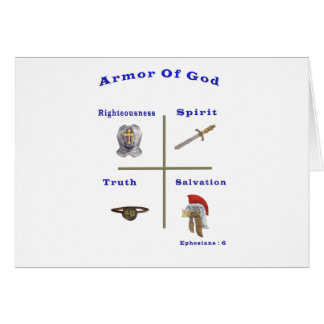 Armor of God products Card