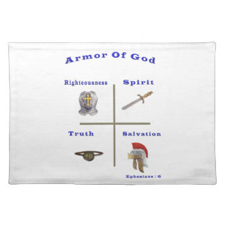 Armor of God products Placemats