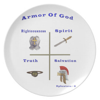Armor of God products Party Plate