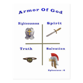 Armor of God products Postcards