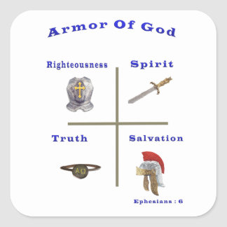 Armor of God products Stickers