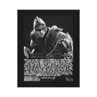 Armor of GOD Scripture Canvas Canvas Print