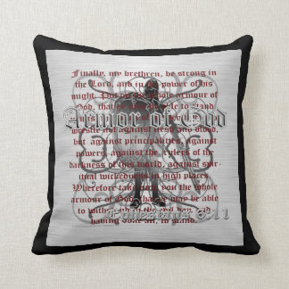 Armor of God Soldier Pillow