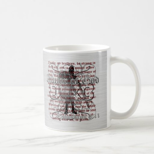 Armor of God Soldier Mug