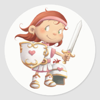 Armor of God stickers - Girl