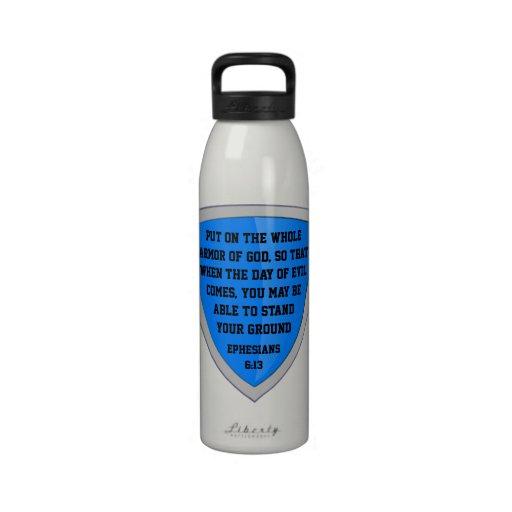 armor of God water bottle