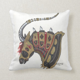 Armored Unicorn Cushion