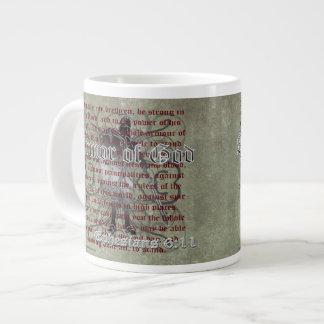 Armour of God, Ephesians 6:10-18, Christian Giant Coffee Mug