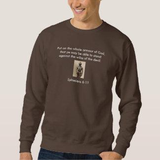 Armour of God Men's Sweatshirt w/Armour