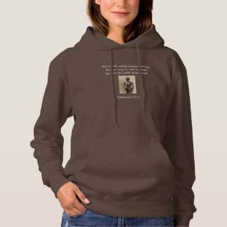 Armour of God Women's Hoodie w/Armour