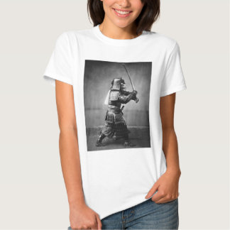 Armoured Samurai with Sword and Dagger in 1860 Tee Shirt