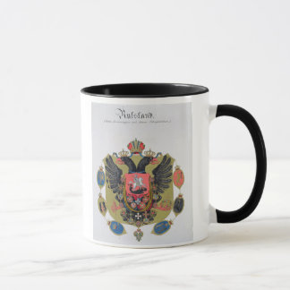 Arms and shield of the state of Imperial Russia, f Mug