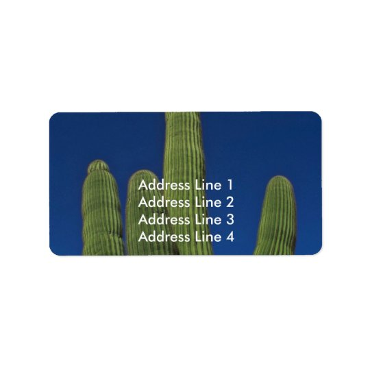 Arms Of A Saguaro Label