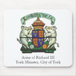 Arms of Richard III Mousepad