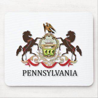 Arms of the state of Pennsylvania Mouse Pad