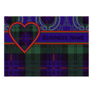 Armstrong clan Plaid Scottish tartan Pack Of Chubby Business Cards