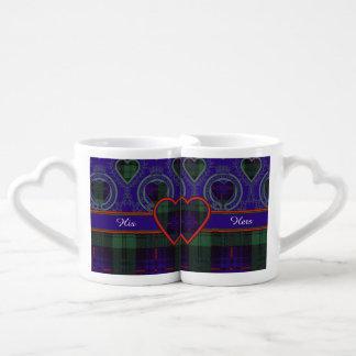 Armstrong clan Plaid Scottish tartan Couple Mugs