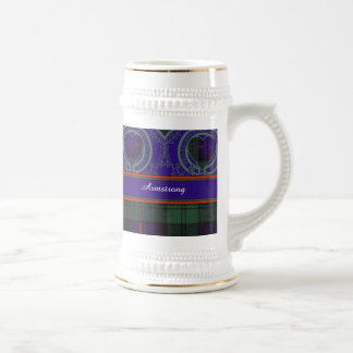 Armstrong clan Plaid Scottish tartan Mugs