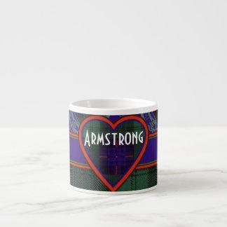 Armstrong clan Plaid Scottish tartan Espresso Mug