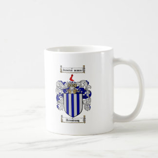 ARMSTRONG FAMILY CREST -  ARMSTRONG COAT OF ARMS COFFEE MUG