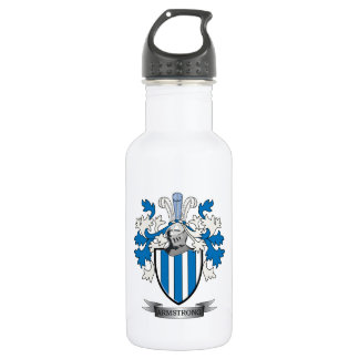 Armstrong Family Crest Coat of Arms 532 Ml Water Bottle