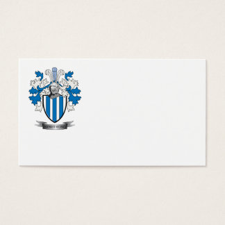 Armstrong Family Crest Coat of Arms Business Card