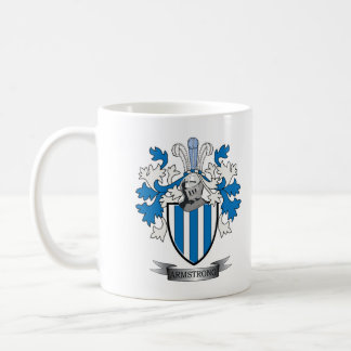 Armstrong Family Crest Coat of Arms Coffee Mug