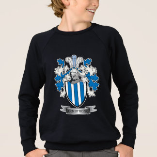 Armstrong Family Crest Coat of Arms Sweatshirt